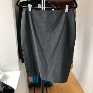 Vintage Guess Collection Grey Skirt With Slits
